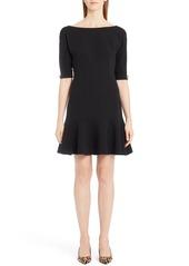 Dolce & Gabbana Dolce&Gabbana Stretch Wool Fit & Flare Dress