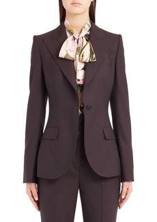 Dolce & Gabbana Dolce&Gabbana Stretch Wool Jacket