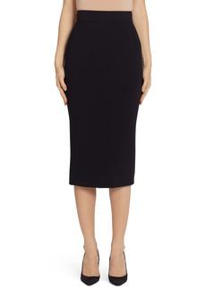 Dolce & Gabbana Dolce&Gabbana Stretch Wool Pencil Skirt