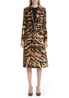 Dolce & Gabbana Dolce&Gabbana Tiger Velvet Coat