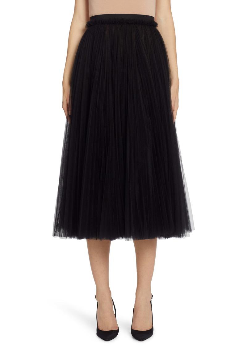 Dolce & Gabbana Dolce&Gabbana Tulle A-Line Skirt