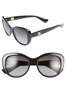 Dolce&Gabbana 'Urban Essential' 54mm Polarized Sunglasses