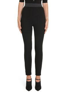 Dolce & Gabbana Dolce&Gabbana Wool Crepe Legging Pants