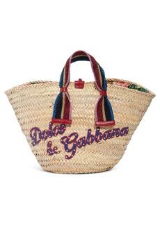 Dolce & Gabbana Dolce&Gabbana Woven Straw Tote