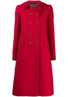 Dolce & Gabbana double breasted midi coat