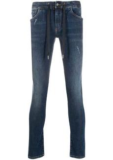 Dolce & Gabbana drawstring skinny jeans