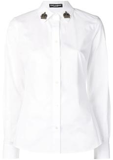 Dolce & Gabbana embellished collar shirt