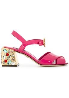 Dolce & Gabbana embellished heel sandals