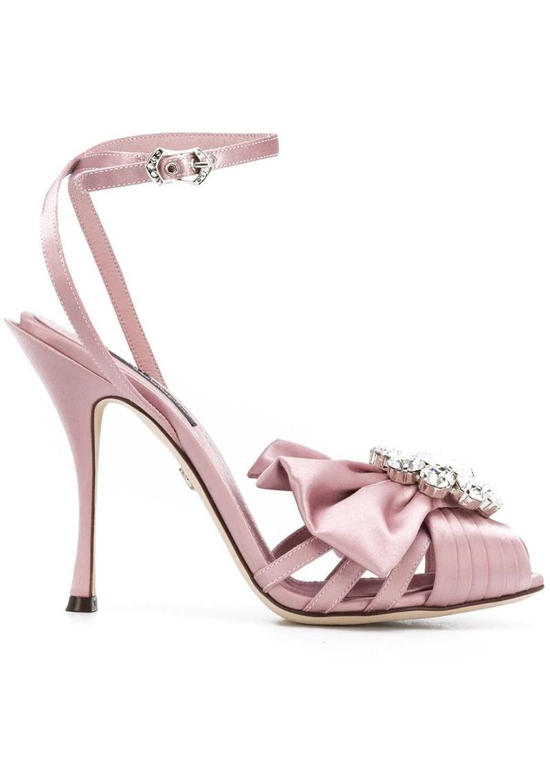 Dolce & Gabbana embellished open-toe sandals