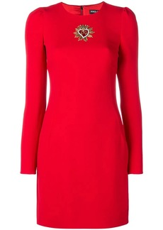 Dolce & Gabbana embellished sheath dress