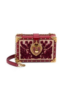 Dolce & Gabbana Embroidered Convertible Clutch