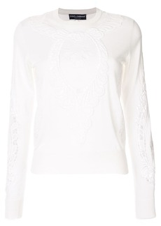 Dolce & Gabbana embroidered detail jumper