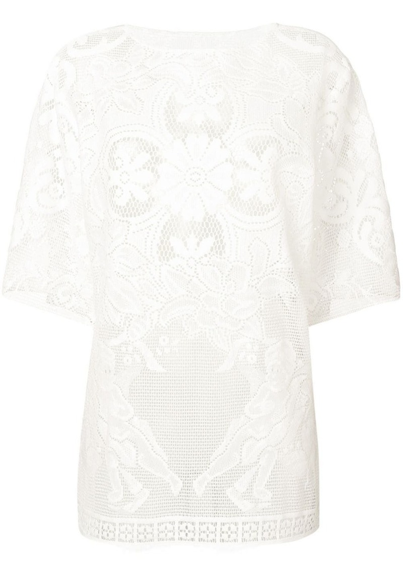 Dolce & Gabbana embroidered T-shirt