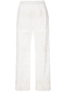 Dolce & Gabbana embroidered trousers