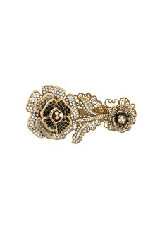 Dolce & Gabbana encrusted English rose brooch