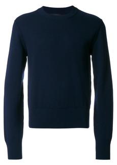 Dolce & Gabbana exposed shoulder seam jumper