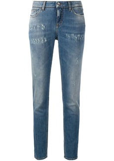 Dolce & Gabbana faded slim jeans