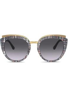 Dolce & Gabbana Family cat-eye frame sunglasses