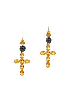 Dolce & Gabbana Family cross earrings