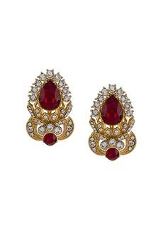 Dolce & Gabbana faux-gem embellished earrings