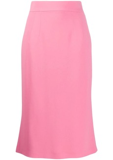Dolce & Gabbana fitted midi skirt
