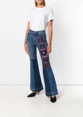 Dolce & Gabbana flared Amore jeans