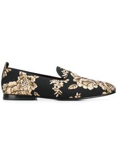 Dolce & Gabbana flat jacquard loafers