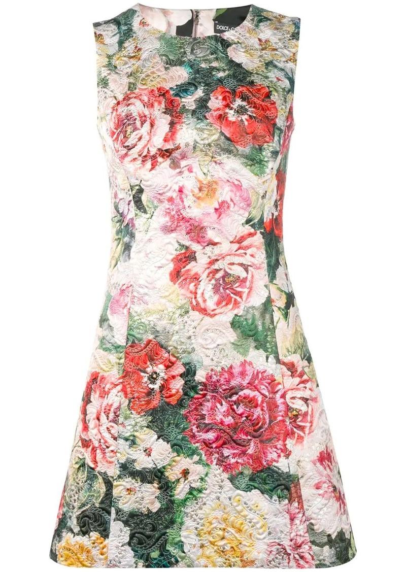 Dolce & Gabbana floral A-line dress