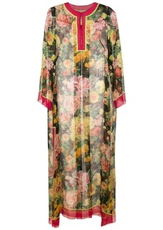 Dolce & Gabbana floral blooms printed maxi dress