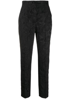 Dolce & Gabbana floral brocade trousers