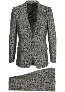 Dolce & Gabbana floral jacquard evening suit