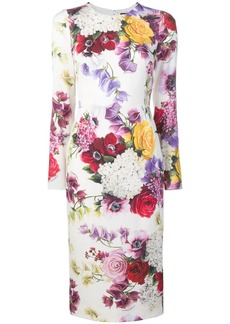 Dolce & Gabbana floral print pencil dress