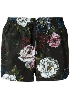 Dolce & Gabbana floral swim trunks