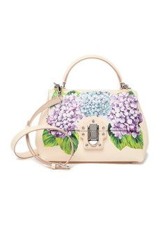 Dolce & Gabbana Floral Top Handle Satchel