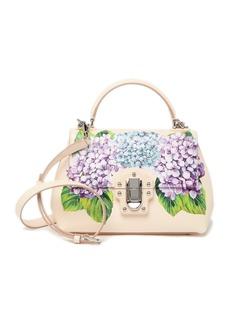 Dolce & Gabbana Floral Top Handle Satchel