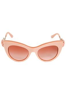 Dolce & Gabbana Flower Detail Cat-eye Acetate Sunglasses