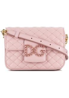 Dolce & Gabbana foldover logo crossbody bag