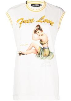 Dolce & Gabbana Free Love tank top