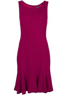 Dolce & Gabbana frill-hem mini dress