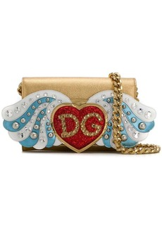 Dolce & Gabbana heart appliqué crossbody bag