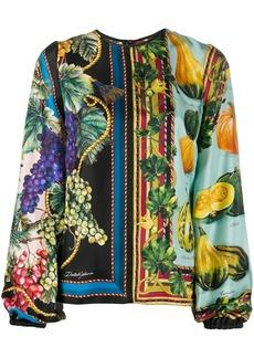 Dolce & Gabbana fruit-print blouse