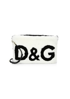 Dolce & Gabbana Fur Clutch Bag