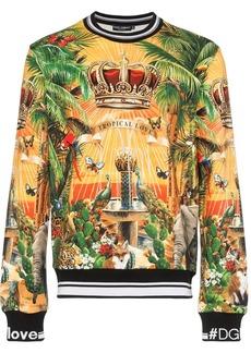 Dolce & Gabbana Giardino print sweatshirt