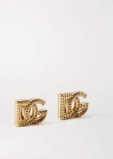 Dolce & Gabbana Gold-tone Clip Earrings