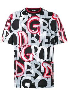 Dolce & Gabbana graffiti logo T-shirt