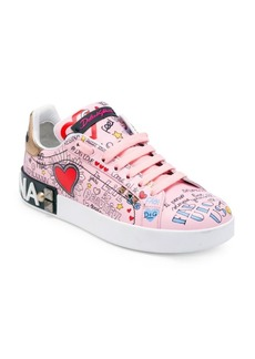 Dolce & Gabbana Graffiti Mural Sneakers