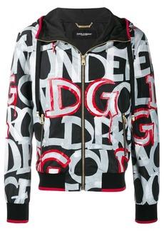 Dolce & Gabbana graffiti print jacket