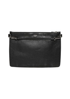 Dolce & Gabbana Grained Leather Crossbody Bag