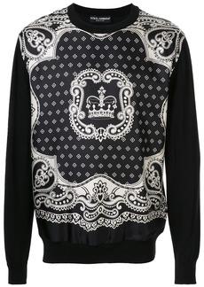 Dolce & Gabbana graphic print sweatshirt