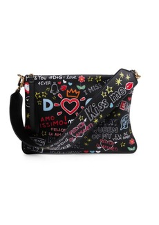 Dolce & Gabbana Graphic Shoulder Bag